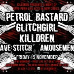 Killdren presents at Amersham Arms flyer screen2